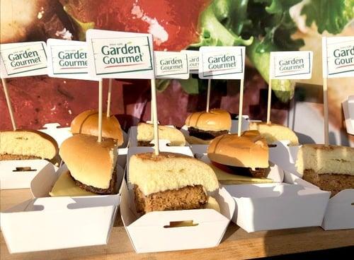 Nestle Garden Gourmet burgers for food sampling campaign
