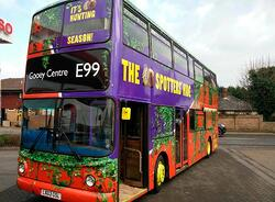 Creme Egg Double Decker Bus Tour for Easter