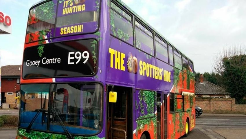 Creme Egg Bus