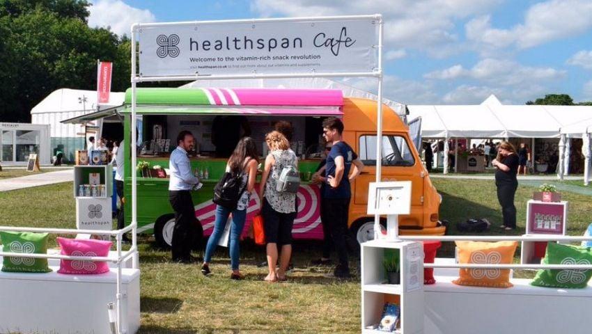 Healthspan Taste of London Estaffe