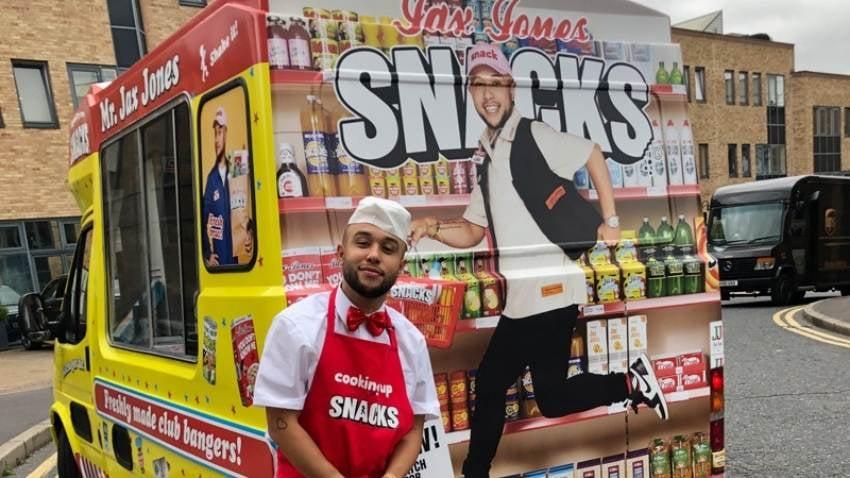 Jax Jones Ice Cream Van Hire