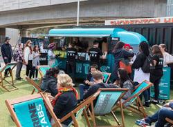Listerine pop-up food truck sampling event