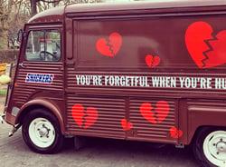 Snickers Valentine's PR Stunt