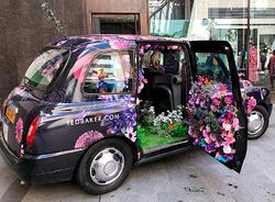 Ted Baker Taxi activation