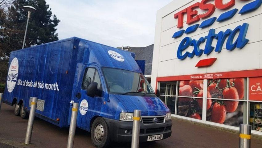Tesco Exhibition Van