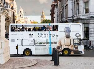 Adidas Stormzy brand awareness campaign