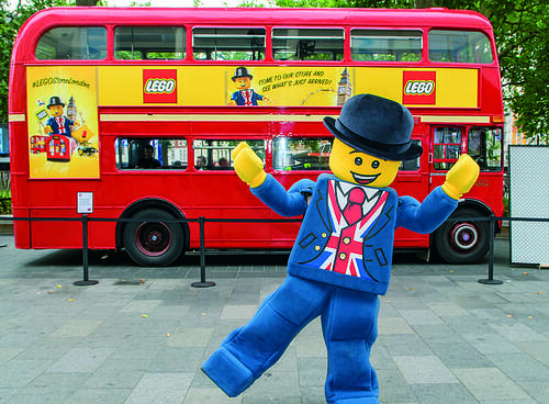Branded lego Routemaster