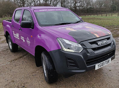 Absolute Radio Tour - promotional pick up truck