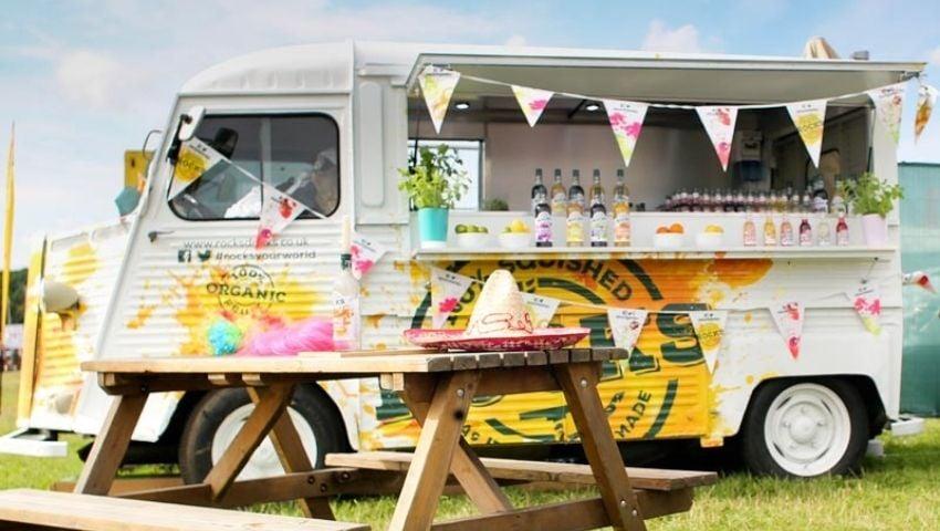 Rocks Citroen H Van drinks sampling truck