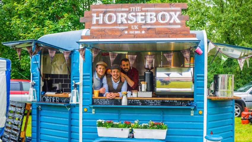 Horsebox Co trailer hire for sampling campaign