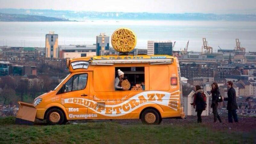 Warburtons crumpet ice cream truck hire
