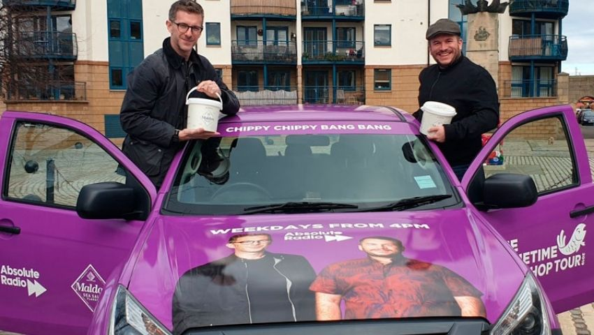 Absolute Radio branded car hire for UK tour