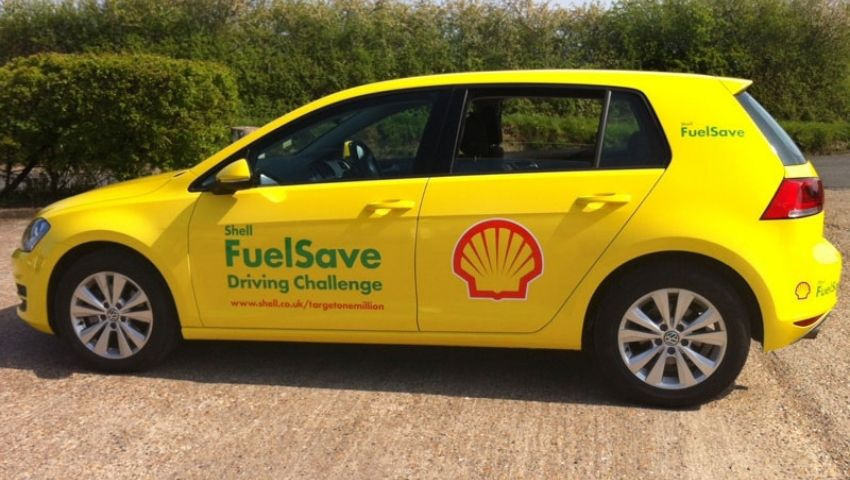 Shell branded promotional car hire
