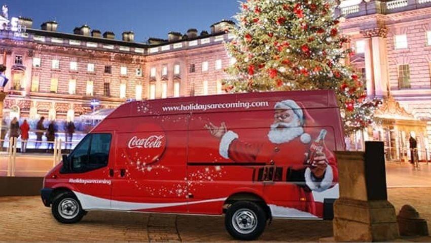 Coca-Cola branded support van hire