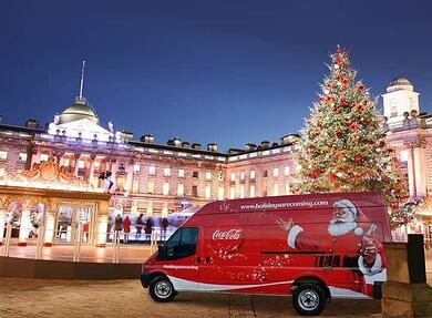 Coca-cola drinks sampling campaign