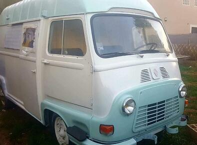 Renault Estafette - ready for brand purchase and conversion