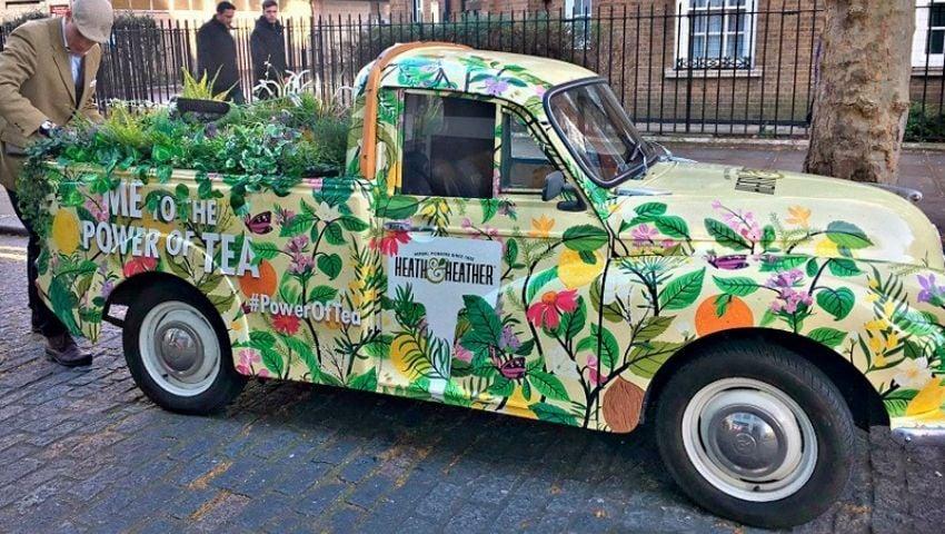 Heath & Heather vintage vehicle restoration for campaign