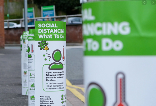 Getting the safety message across with social distancing signage