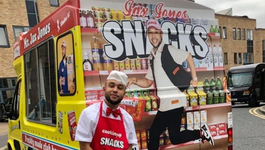 Jax Jones ice cream van activation